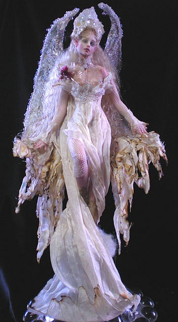 Midnight Angel Anael Dolls And Puppets Pinterest