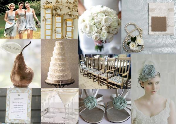 Bouquet and dress colour for bridemaids