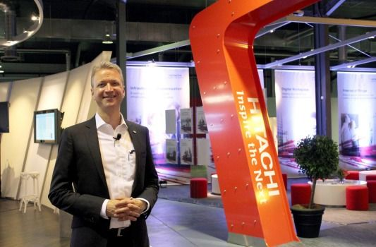Hitachi Vantara chief operating officer Brian Householder says the company is transitioning to an ...