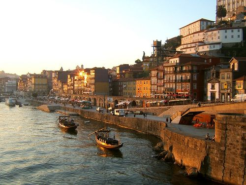Porto, Portugal...one of the most romantic places.Its still old world with  elderly women waking early to sweep the cobblestones.