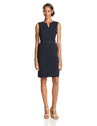 Jones New York Women's Split Seam Sheath with Pockets, Navy, 10 Jones New York http://www.amazon.com/dp/B00KAYW2Q6/ref=cm_sw_r_pi_dp_Dey8vb0D8H670