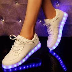tenis led-luminosos colores unisex zapatos ropa deportiva