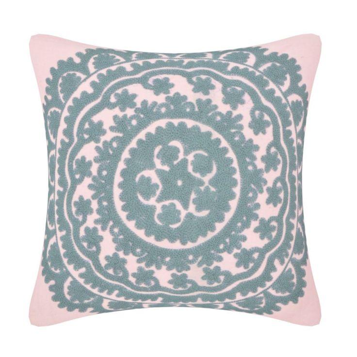 Indian Handmade SUZANI cushion cover pillow cover sofa cushion 16x16 #Handmade