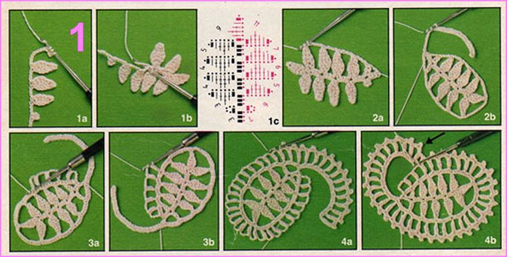 Crochet Paisley - Tutorial
