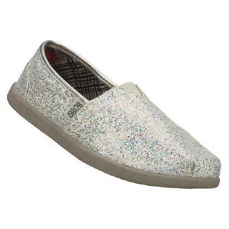 Ear Papa Shoes (Silver Glitter