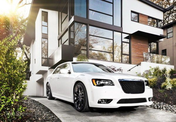 The 2013 Chrysler 300 SRT8 - the last model was much more original, and better looking