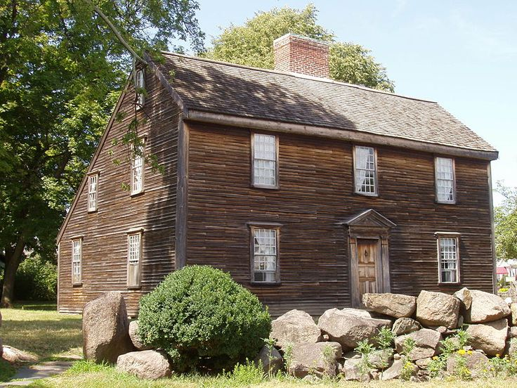 John Adams birthplace, Quincy, Massachusetts - Saltbox - Wikipedia, the free encyclopedia