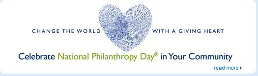 Its National #Philanthropy Day! How will you celebrate?