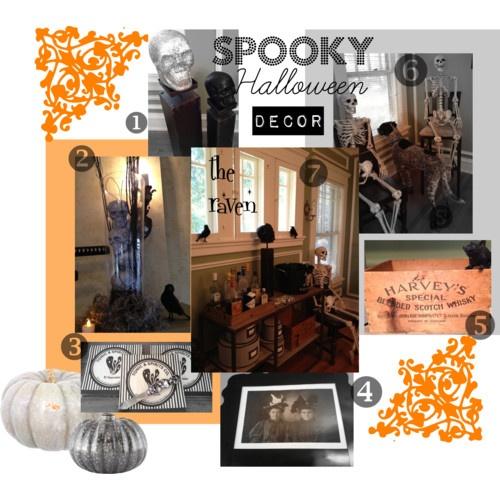 7 halloween party decor ideas