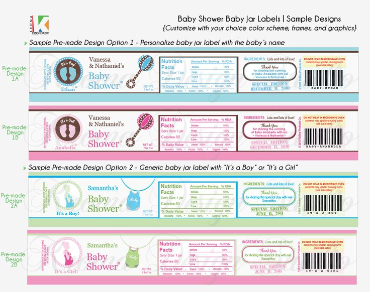 17 best baby shower ideas images on pinterest baby jars potties baby showers diy prinatble baby jar label favors for baby showers kroma design studio parties events pronofoot35fo Gallery