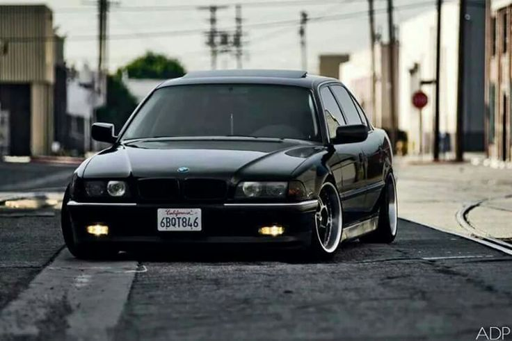 Bmw E39 5 Series Black Stance Cars Pinterest Bmw E39