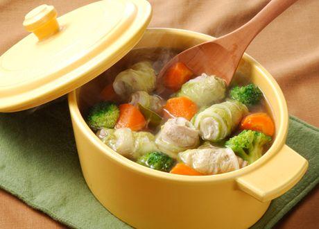 豚肉の白菜巻きポトフ (レシピNo.1492) ネスレ バランスレシピ