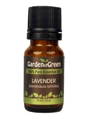 Lavender Essential Oil (100% Pure and Natural, Therapeutic Grade) from Garden of Green by Garden of Green. Save 60 Off!. $5.20. Other Garden of Green Essential Oils: Allspice, Anise, Basil, Bay, Bergamot, Black Pepper, Cassia, Cedarwood, Chamomile, Cinnamon Leaf, Cistus, Citronella, Clary Sage, Clove, Coriander, Cypress, Dill, Eucalyptus, Fennel, Fir Needle, Frankincense, Geranium, Ginger, Grapefruit, Hyssop, Jasmine, Juniperberry, Lavender, Lemon, Lemon Eucalyptus, Lemongrass, Lime…