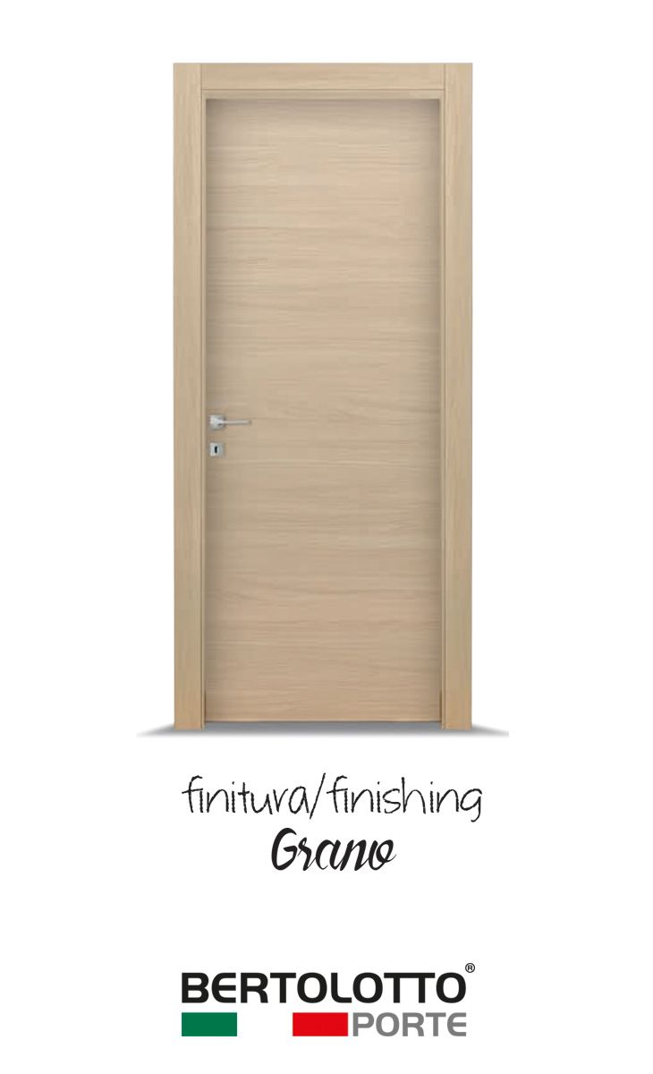 The Grafite collection includes laminated wood doors with soft finish, modern and trendy colours and high-range accessories. Decorations are available in three different colours: Wheat, Ice and Acorn. Grafite doors are perfect for people who love their environment and want to be surrounded by beautiful and functional objects, without neglecting their final price.