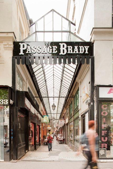 Passage Brady  43 rue du Faubourg-Saint-Martin / 46 rue du Faubourg-Saint-Denis