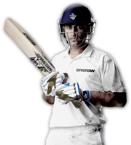 MS Dhoni Spartan Cricket Club ambassador.