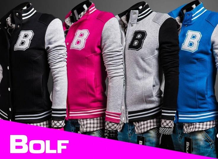 BOLF 19 - eine Baseball-Jacke mit Rücksicht auf Damen :)