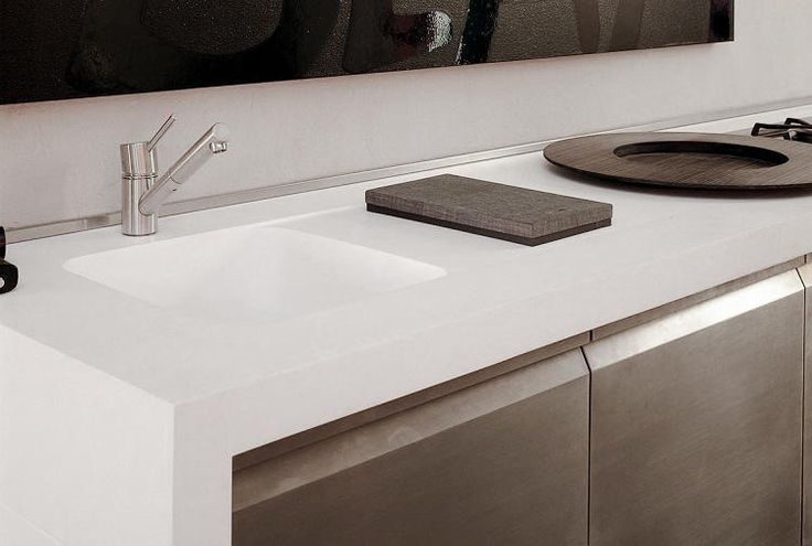 kitchen sink benchtop corian 174 colour cameo white application benchtop 2582