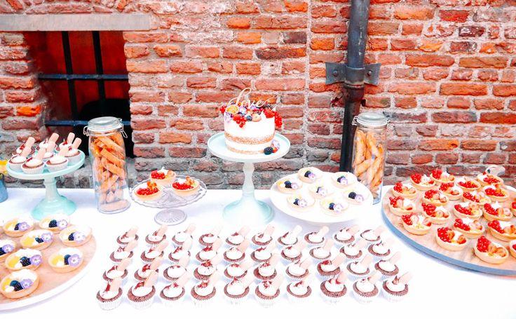 Sweet table for an Italian wedding!