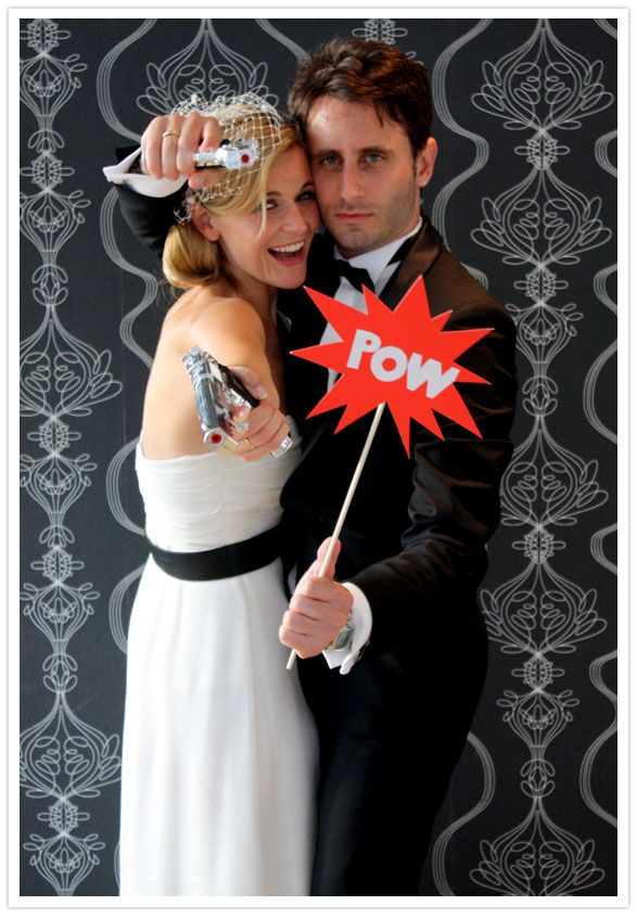 photo booth props toy guns and