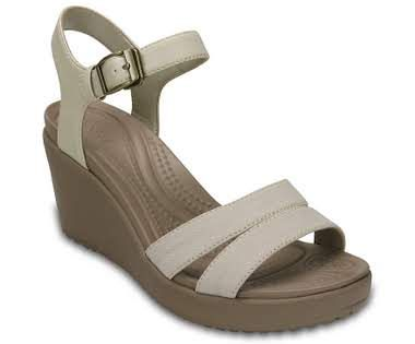 These comfortable wedges for women have Crocs' classic foam for comfort, allowing you to wear them all day. Check out the Leigh II Ankle Strap Wedge.