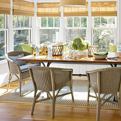 Summery Dining   The New Classic Beach House   Coastal Living PALECEK  wicker chairs 705 best Dining room images on Pinterest   Dining room  Room and Home. Palecek Dining Chairs. Home Design Ideas