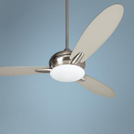 "52"" Craftmade Loris Stainless Steel Ceiling Fan - $208"