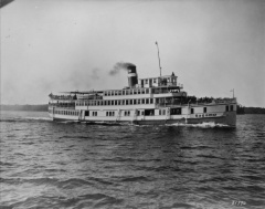 Sagamo - the largest of the steamship fleet could carry 800 passengers -Credit:Library and Archives Canada/PA-188841