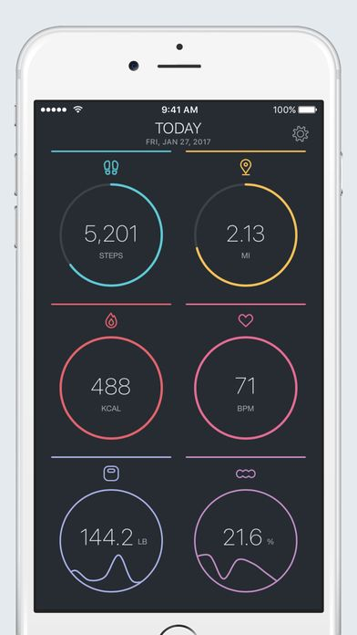 FitPort - Fitness Dashboard for Apple Health app van Flask LLP