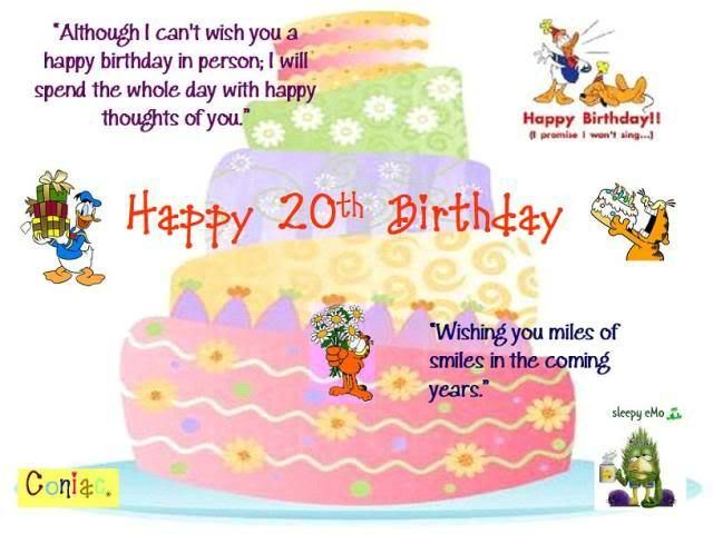 Happy 20 Birthday Granddaughter Birthday With Images Happy