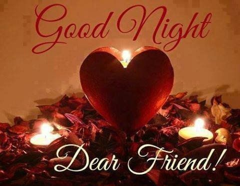 Goodnight and God bless you my Dear Friend! XOXO's