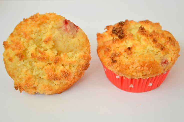Strawberry Coconut Muffins