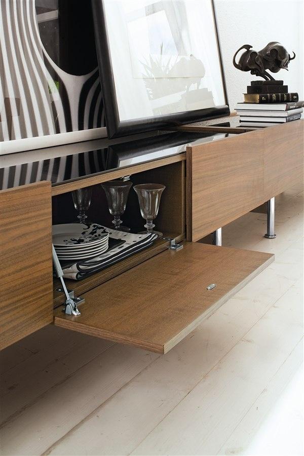 Horizon Wooden TV Bench