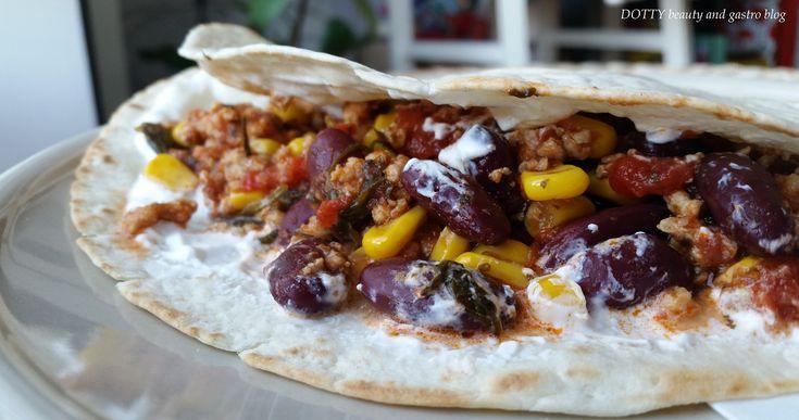 Korianderes taco mexikói ízek a konyhában…