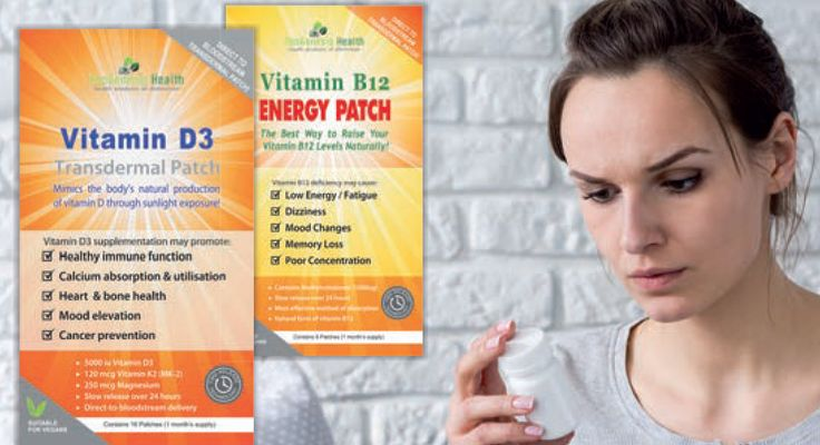 Vitamin D3 Transdermal Patch  Vitamin B12 Energy Patch - Are you getting the most from your vitamins?  Poor absorption and breakdown by the liver could be why your vitamins are not performing as well as they should. Transdermal delivery bypasses the digestive system, ensuring that you always get the best from your vitamins.  www.neogenhealth.com