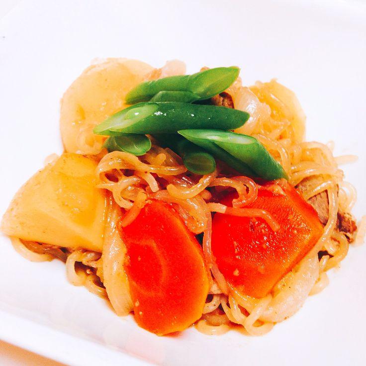 肉じゃが Nikujaga (Meat and potato stew)