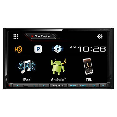 Special Offers - Kenwood DDX773BH 6.95 In Dash Touchscreen DVD CD Receiver with built in Bluetooth AM/FM Tuner and HD Radio - In stock & Free Shipping. You can save more money! Check It (July 25 2016 at 08:40AM) >> http://wbluetoothspeaker.net/kenwood-ddx773bh-6-95-in-dash-touchscreen-dvd-cd-receiver-with-built-in-bluetooth-amfm-tuner-and-hd-radio/