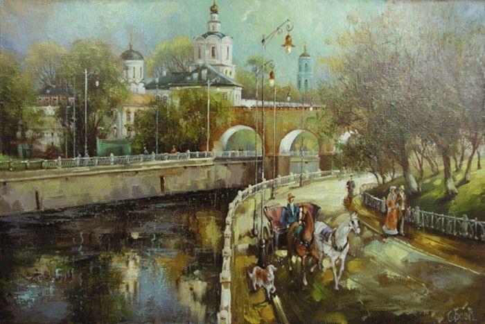 пейзажи художника Сергея Боева – 03