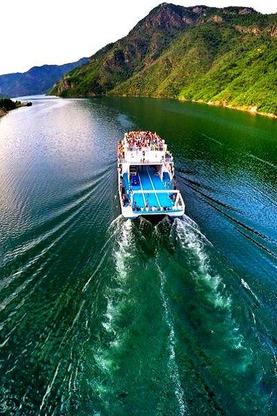 Koman Lake, Tropoje, Albania