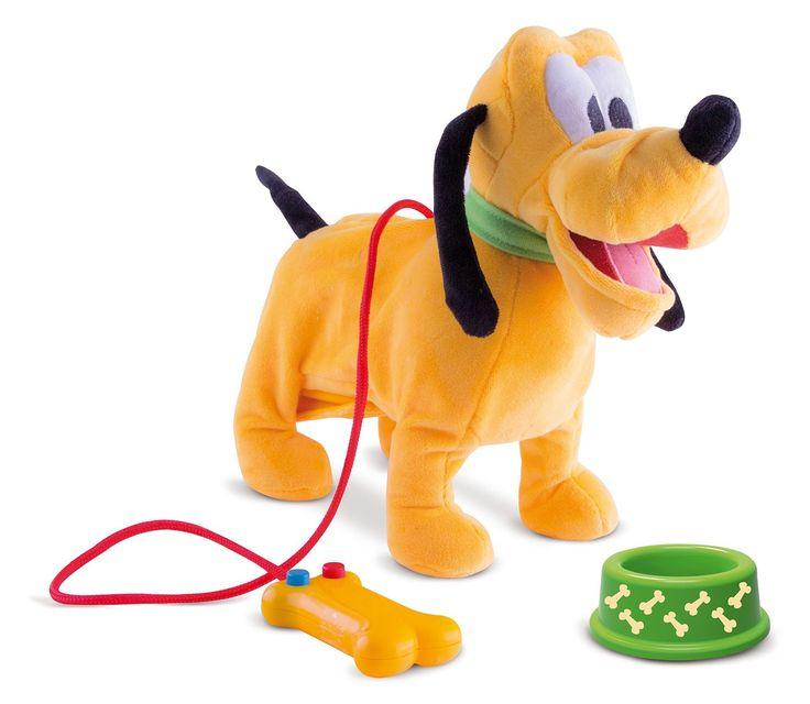 IMC Toys 181243 - Mickey Mouse Pluto Camminante Filoguidato con Suoni: Amazon.it: Giochi e giocattoli