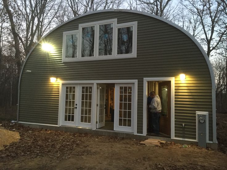 28 best images about quonset home on pinterest interior for Modern quonset homes