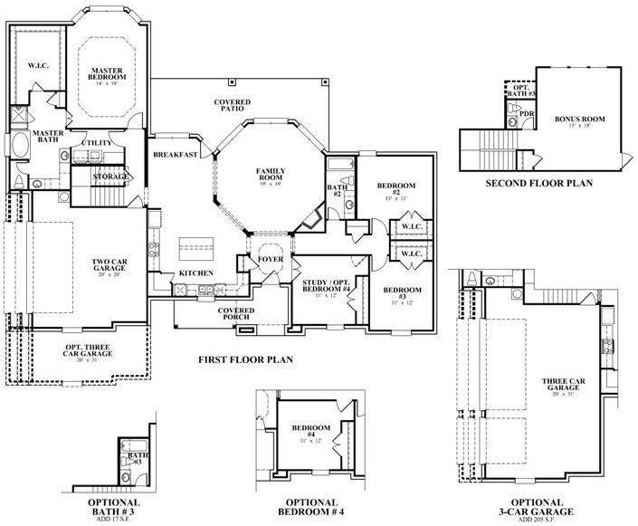 1086 best images about dream home on pinterest antiques for 2500 sq ft house plans with walkout basement