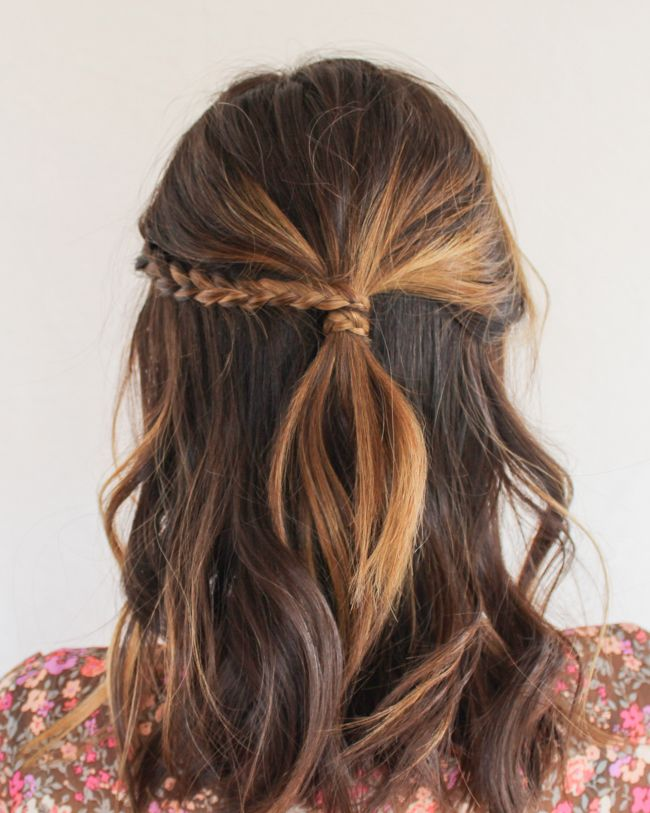 3 different ways to wear the popular half-up hair style with just one easy technique – the 3-strand braid.