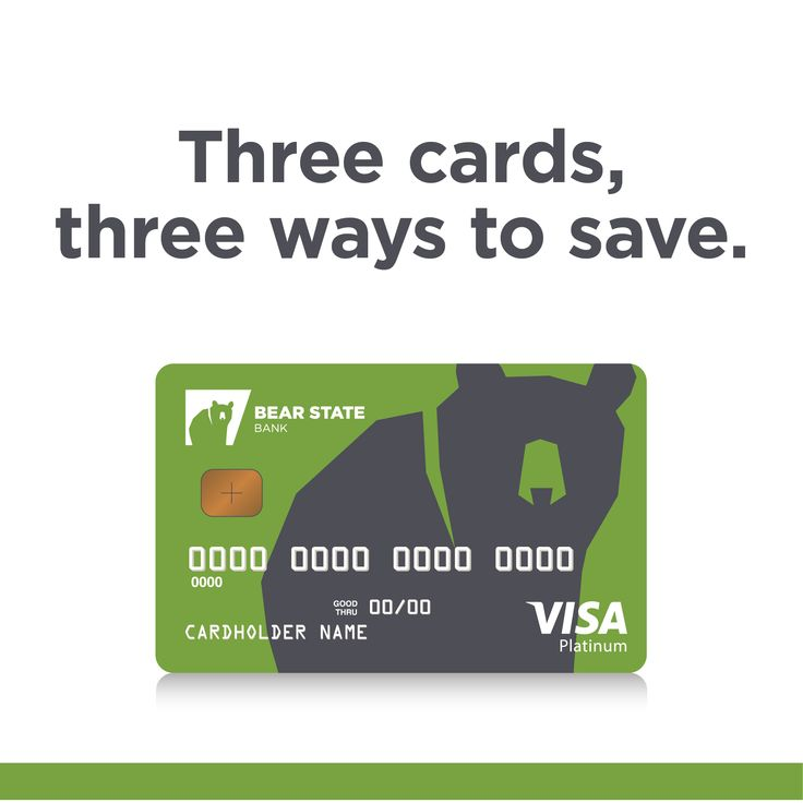 Low-interest, high-reward Visa® Cards from Bear State Bank.  Choose the credit card that works best for you!