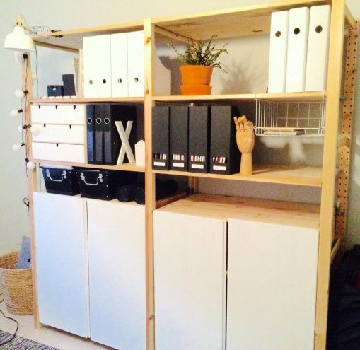 89 best ikea ivar images on pinterest ikea ivar shelves dining rooms and dreams. Black Bedroom Furniture Sets. Home Design Ideas