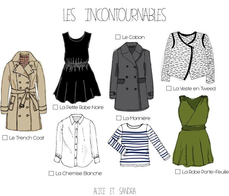 My Personal Wardrobe : étape 5 trouver ses essentiels