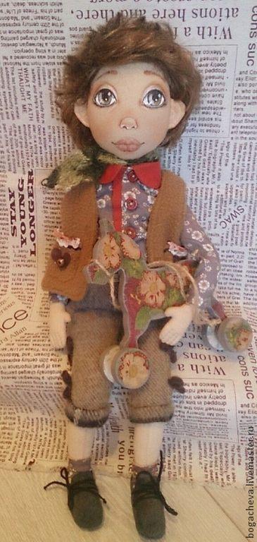 Коллекционные куклы ручной работы. Ярмарка Мастеров - ручная работа Выкройка текстильной куклы. Handmade.