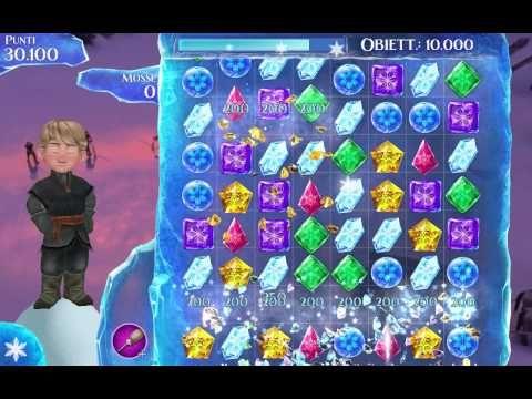 Frozen Gems gameplay 1-10 levels | Frozen | Disney | Gems | Child Game