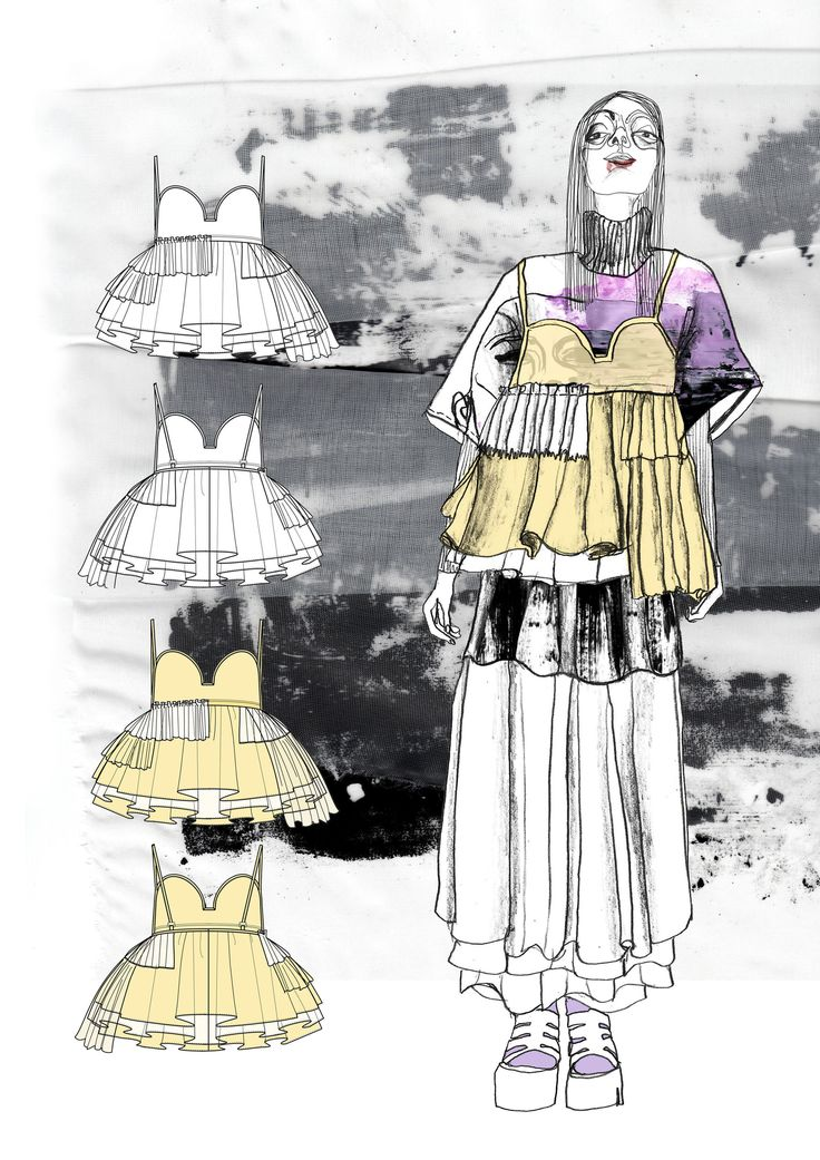 Fashion Sketchbook - fashion illustrations; graduate fashion portfolio // Giryung Kim