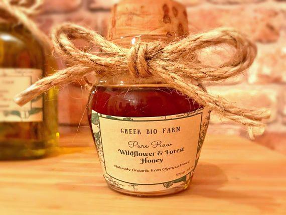 NEW HARVEST SEPT.2017 Raw Forest Honey Wildflower Unprocessed #greekhoney #foresthoney #wildflowerhoney #purerawhoney #honeyideas #honeyfavors #honeygifts  #honeygiftset